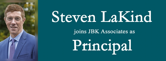 STEVEN LAKIND JOINS JBK ASSOCIATES INTERNATIONAL AS PRINCIPAL